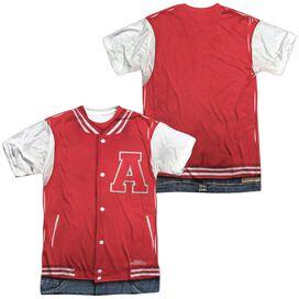 REVENGE OF THE NERDS JOCK COSTUME (FRONT/BACK T-Shirt