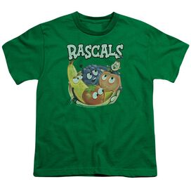 DUBBLE BUBBLE RASCALS - S/S YOUTH 18/1 - KELLY GREEN T-Shirt