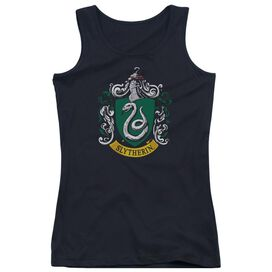 Harry Potter Slytherin Crest Juniors Tank Top