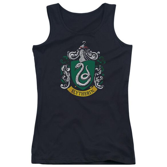 Harry Potter Slytherin Crest Juniors Tank Top