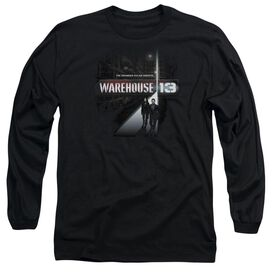 WAREHOUSE 13 THE UNKNOWN - L/S ADULT 18/1 - BLACK T-Shirt