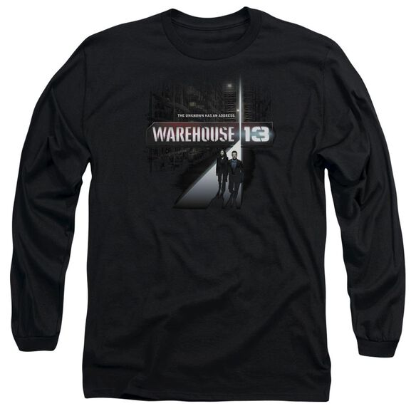 Warehouse 13 The Unknown Long Sleeve Adult T-Shirt