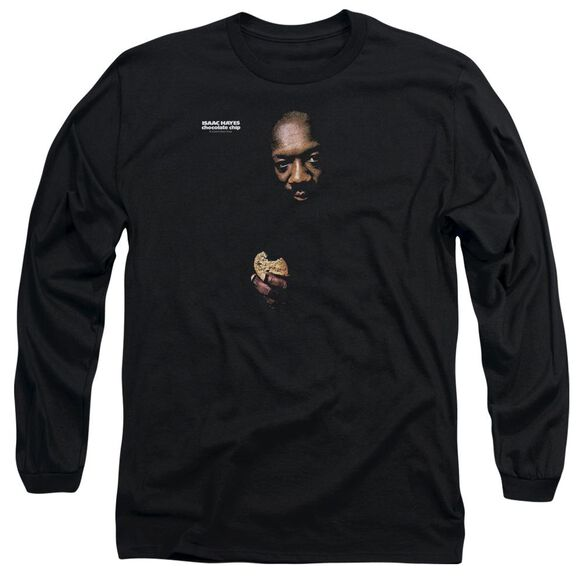 Isaac Hayes Chocolate Chip Long Sleeve Adult T-Shirt