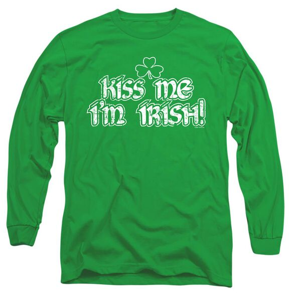KISS ME IM IRISH- ADULT T-Shirt