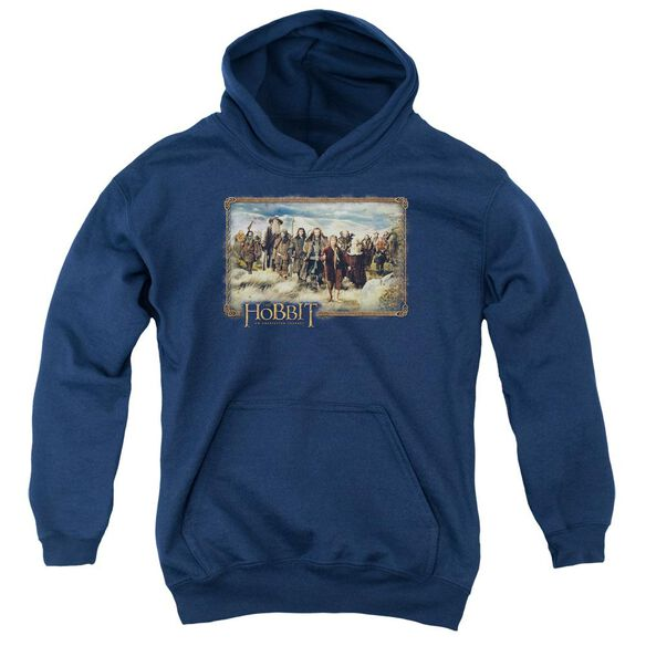 The Hobbit Hobbit & Company Youth Pull Over Hoodie