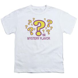 DUM DUMS MYSTERY FLAVOR - S/S YOUTH 18/1 - WHITE T-Shirt