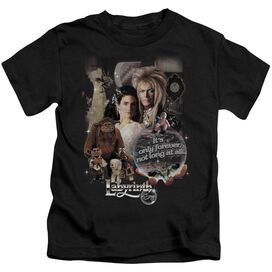 Labyrinth 25 Years Of Magic Short Sleeve Juvenile Black Md T-Shirt