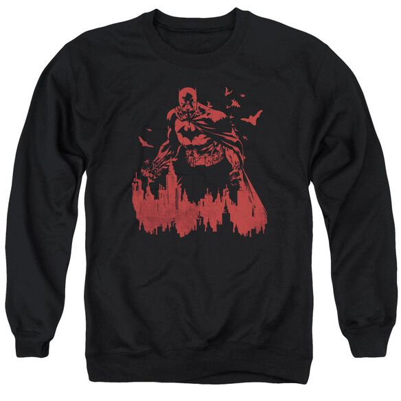 Batman Red Knight Adult Crewneck Sweatshirt