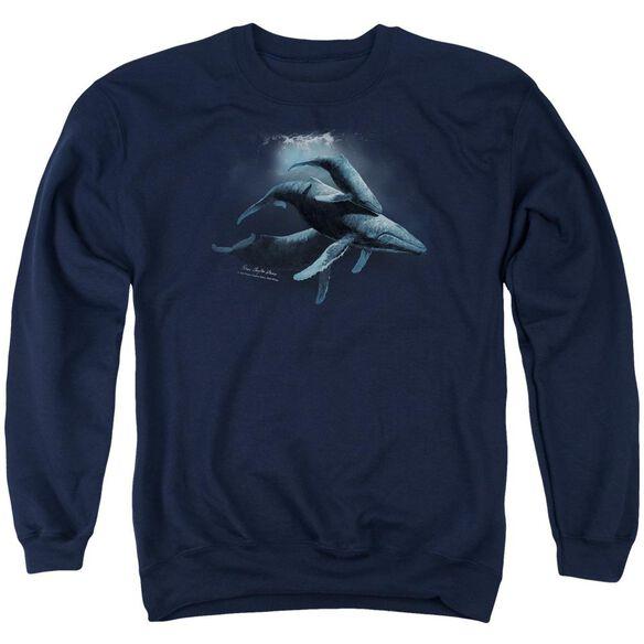 Wildlife Power&Amp;Grace Adult Crewneck Sweatshirt