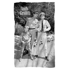 Andy Griffith Lawmen Fleece Blanket