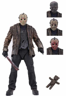 "NECA Freddy vs. Jason - Jason Voorhees 7"" Scale Action Figure [Ultimate Version]"