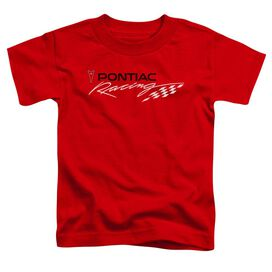 Pontiac Red Pontiac Racing Short Sleeve Toddler Tee Red T-Shirt