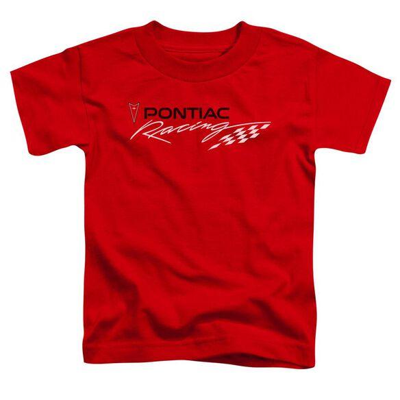 Pontiac Red Pontiac Racing Short Sleeve Toddler Tee Red T-Shirt
