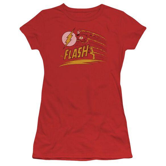Dc Like Lightning Short Sleeve Junior Sheer T-Shirt
