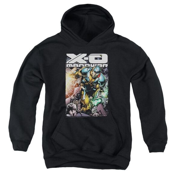 Xo Manowar Pit Youth Pull Over Hoodie