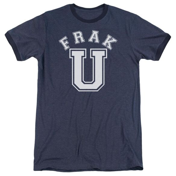 Bsg Frak U - Adult Heather Ringer - Navy