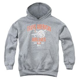Airplane Trans American Youth Pull Over Hoodie