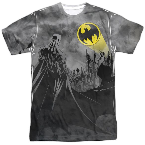 Batman Heed The Call Short Sleeve Adult 100% Poly Crew T-Shirt