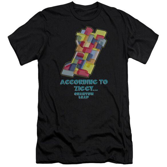 Quantum Leap According To Ziggy Premuim Canvas Adult Slim Fit