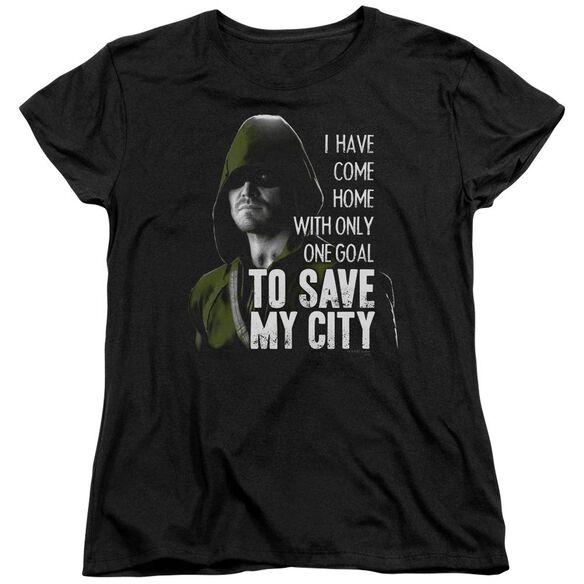 Arrow Save My City Short Sleeve Womens Tee T-Shirt