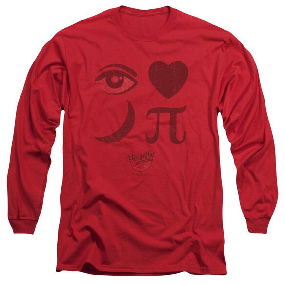 Moon Pie Eye Pie Long Sleeve Adult T-Shirt