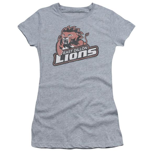 Friday Night Lights East Dillion Lions Short Sleeve Junior Sheer Athletic T-Shirt