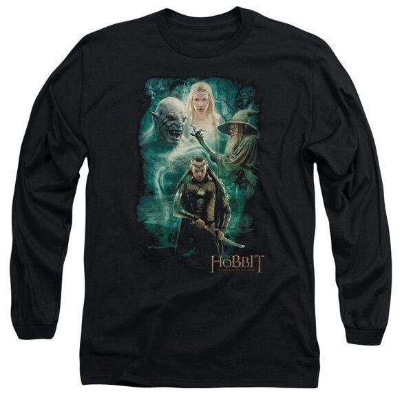 Hobbit Elrond's Crew Long Sleeve Adult T-Shirt