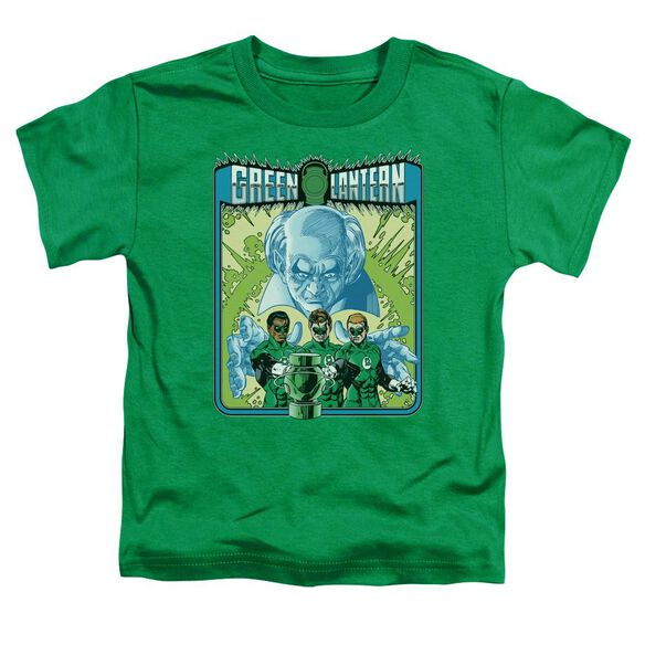 Green Lantern Gl #184 Cover Short Sleeve Toddler Tee Kelly Green Sm T-Shirt