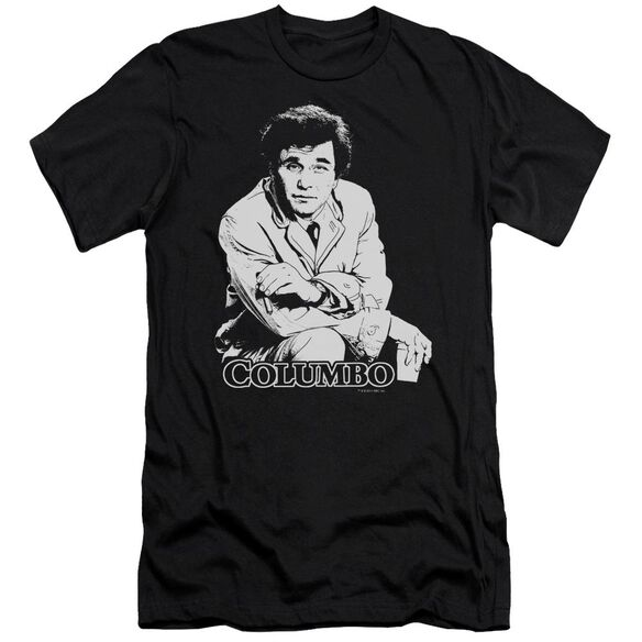 Columbo Title Short Sleeve Adult T-Shirt