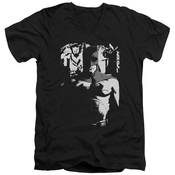 Batman Begins Birth Of Knight Short Sleeve Adult V Neck T-Shirt