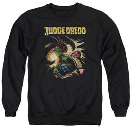 Judge Dredd Blast Away Adult Crewneck Sweatshirt
