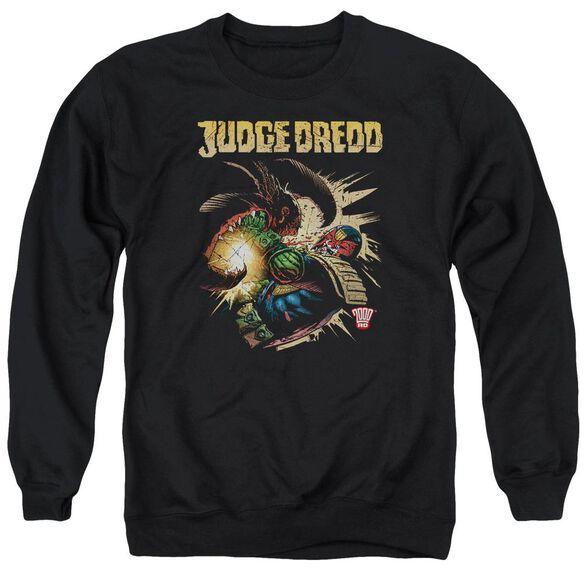 Judge Dredd Blast Away Adult Crewneck Sweatshirt
