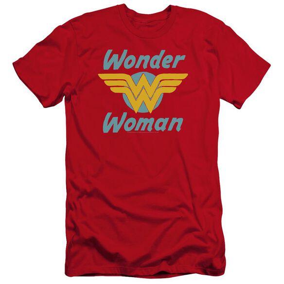 Dc Wonder Wings Premuim Canvas Adult Slim Fit