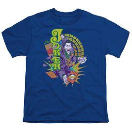 Dc Raw Deal Short Sleeve Youth Royal T-Shirt