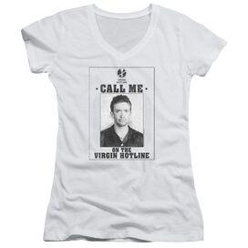 Married With Children Virgin Hotline Junior V Neck T-Shirt