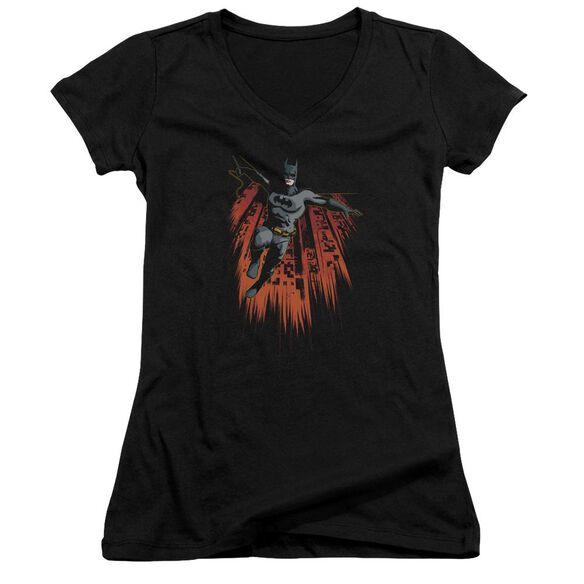 Batman Majestic Junior V Neck T-Shirt