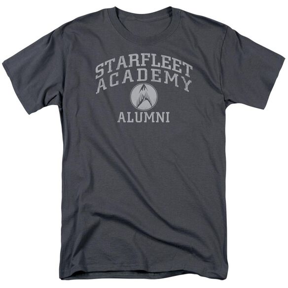 Star Trek Alumni Short Sleeve Adult Charcoal T-Shirt