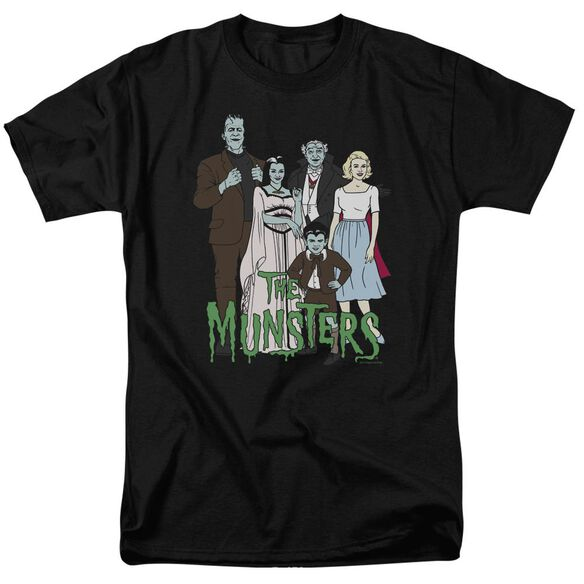 The Munsters The Family Short Sleeve Adult T-Shirt