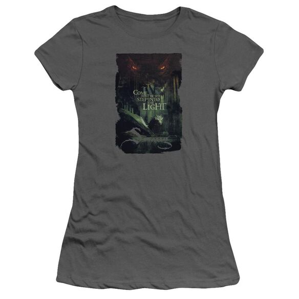 Hobbit Taunt Short Sleeve Junior Sheer T-Shirt