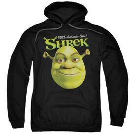 Shrek Authentic Adult Pull Over Hoodie Black