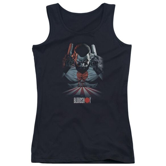 Bloodshot Blood Lines Juniors Tank Top