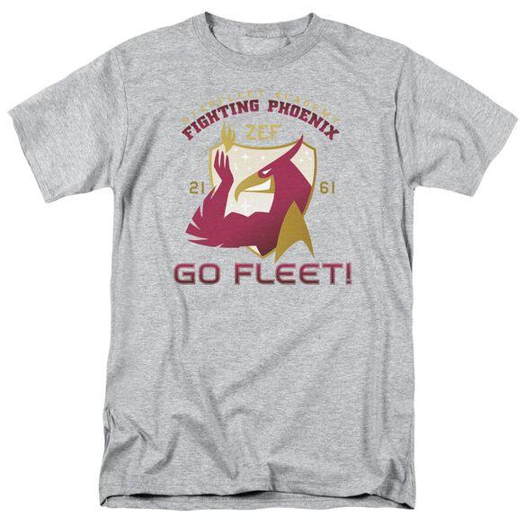 Star Trek Fighting Phoenix Short Sleeve Adult Athletic Heather T-Shirt