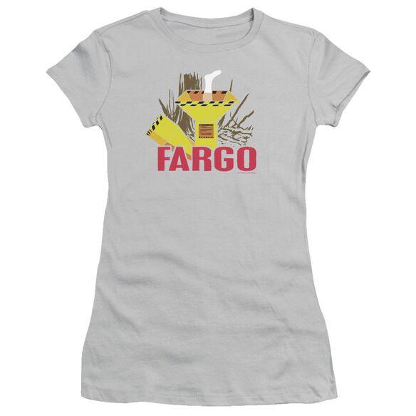 Fargo Woodchipper Short Sleeve Junior Sheer T-Shirt