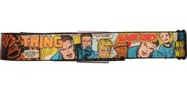 Fantastic Four Comic Panels Seatbelt Belt