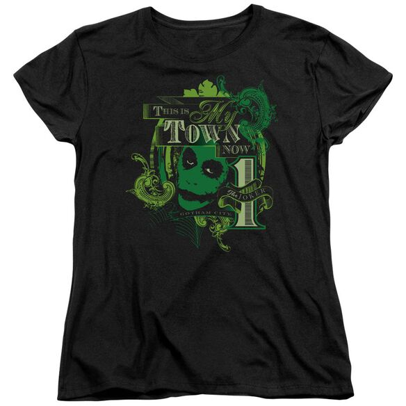 Dark Knight My Town Now Short Sleeve Womens Tee T-Shirt
