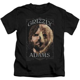 Grizzly Adams Half Bear Short Sleeve Juvenile T-Shirt