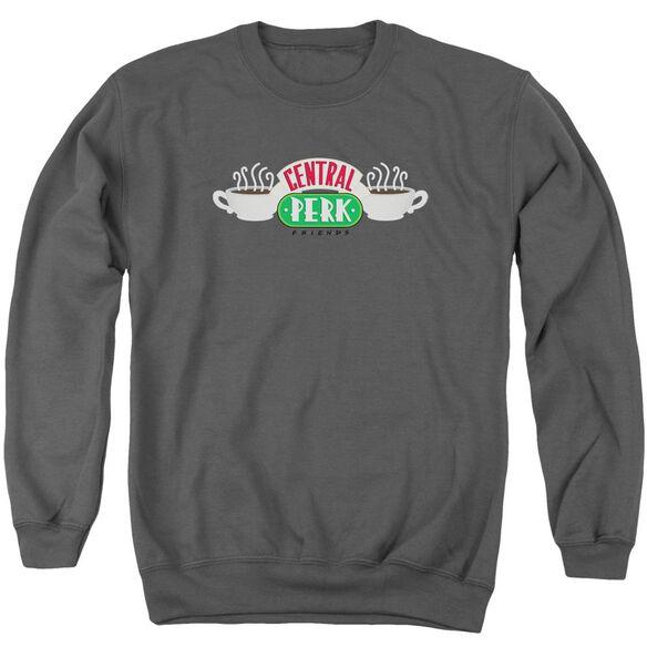 Friends Central Perk Logo Adult Crewneck Sweatshirt