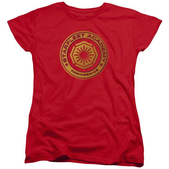Star Trek Engineering Short Sleeve Womens Tee T-Shirt