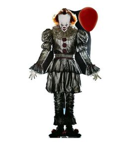 IT Pennywise with Balloon Cardboard Standee Cutout