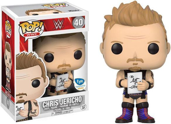 Chris Jericho Exclusive Funko Pop